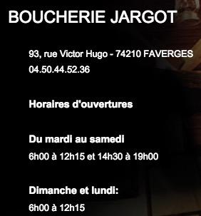 Boucherie Jargot - Faverges